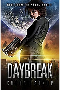 Girl from the Stars Book 1- Daybreak ebook cover
